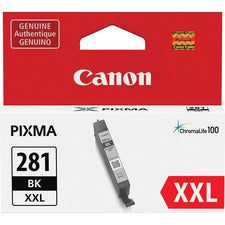Canon CLI-281 XXL Ink Cartridge - Black - Inkjet - 1 Each