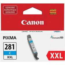Canon CLI-281 XXL Ink Cartridge - Cyan - Inkjet - 1 Each