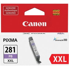 Canon CLI-281 XXL Ink Cartridge - Blue - Inkjet - 1 Each
