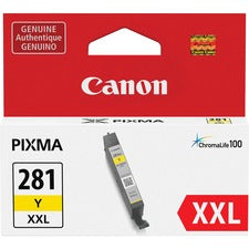 Canon CLI-281 XXL Ink Cartridge - Yellow - Inkjet - 1 Each