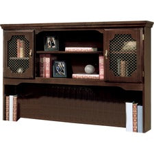 "DMi Governor's Collection Mahogany Furniture - 60"" x 13"" x 46"" - 4 Shelve(s) - Mitered Edge - Material: Hardwood Solid - Finish: Mahogany"