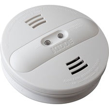 Kidde Dual-sensor Smoke Alarm - 9 V - Audible, Visual - White