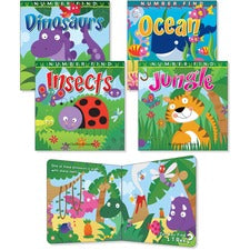 Rourke Educational Number Find Board Book Set Printed Book - Book