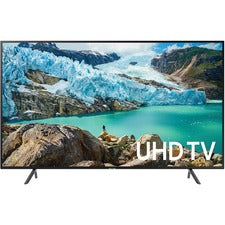 "Samsung RU7100 UN65RU7100F 64.5"" Smart LED-LCD TV - 4K UHDTV - Charcoal Black - Edge LED Backlight - Alexa, Google Assistant Supported - Tizen - Dolby, Dolby Digital"