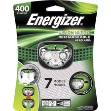 Energizer Vision Ultra HD Rechargeable Headlamp (Includes USB Charging Cable) - Green