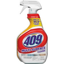 Formula 409 Multi-Suface Cleaner Spray - Spray - 32 fl oz (1 quart) - Fresh Clean Scent - 9 / Carton - White, Red