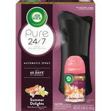 Reckitt Benckiser Summer Air Spray Kit - Spray - 6.2 fl oz (0.2 quart) - Summer Delights - 60 Day - 4 / Carton