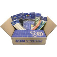 "Teacher Created Resources STEM Starters Activity Kit - Project, Student, Education, Craft - 4"" x 11""13.50"" - 1 Kit - Multi"
