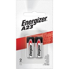 Energizer Alkaline A23 Battery - For Keyless Entry, Garage Door Opener, Electronic Device - A23 - 12 V DC - Alkaline - 144 / Carton