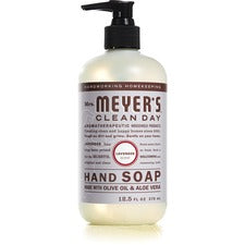 Mrs. Meyer's Hand Soap - Lavender Scent - 12.5 fl oz (369.7 mL) - Dirt Remover, Grime Remover - Hand - Multicolor - Moisturizing, Paraben-free, Phthalate-free, Cruelty-free - 6 / Carton