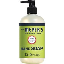 Mrs. Meyer's Hand Soap - Lemon Verbena Scent - 12.5 fl oz (369.7 mL) - Dirt Remover, Grime Remover - Hand - Multicolor - Moisturizing, Paraben-free, Phthalate-free, Cruelty-free - 6 / Carton