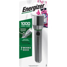 Eveready Vision HD Rechargeable Flashlight - Aluminum AlloyBody - Aluminum