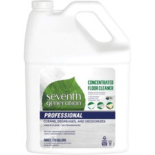 Seventh Generation Concentrated Floor Cleaner - Concentrate - 128 fl oz (4 quart) - Lemon Chamomile Scent - 1 Each - Multi