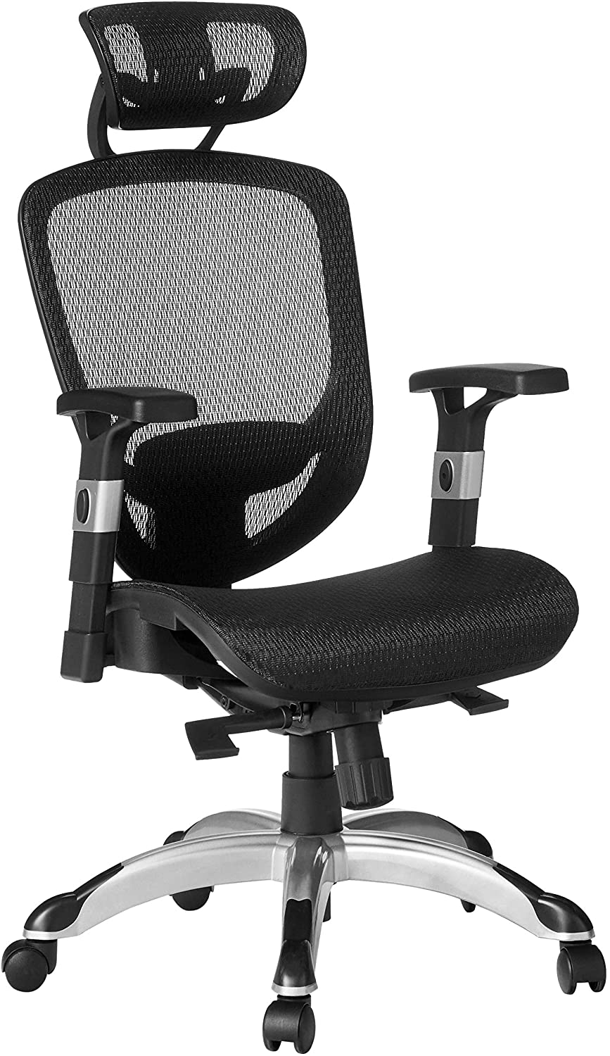 Staples Hyken Mesh Task Chair, Black (23481-CC)