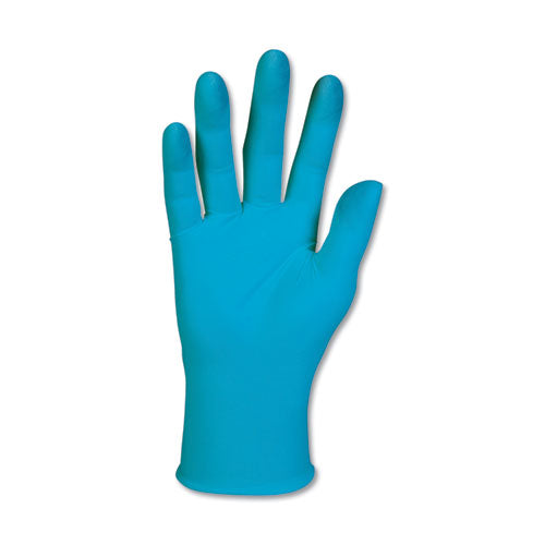G10 Blue Nitrile Gloves, Powder-free, Blue, 242 Mm Length, Medium, 100-box