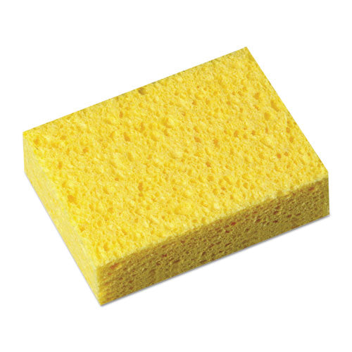 Commercial Cellulose Sponge, Yellow, 4 1-4 X 6