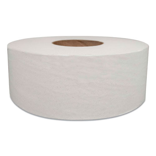 Jumbo Bath Tissue, Septic Safe, 2-ply, White, 1000 Ft, 12-carton