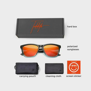 Polarized Sunglasses for Women / Men Gradient Frame Wayfarer - Teddith Blue Light Glasses Computer Glasses Gaming Reading Glasses Anti Glare Reduce Eye Strain Screen Glasses