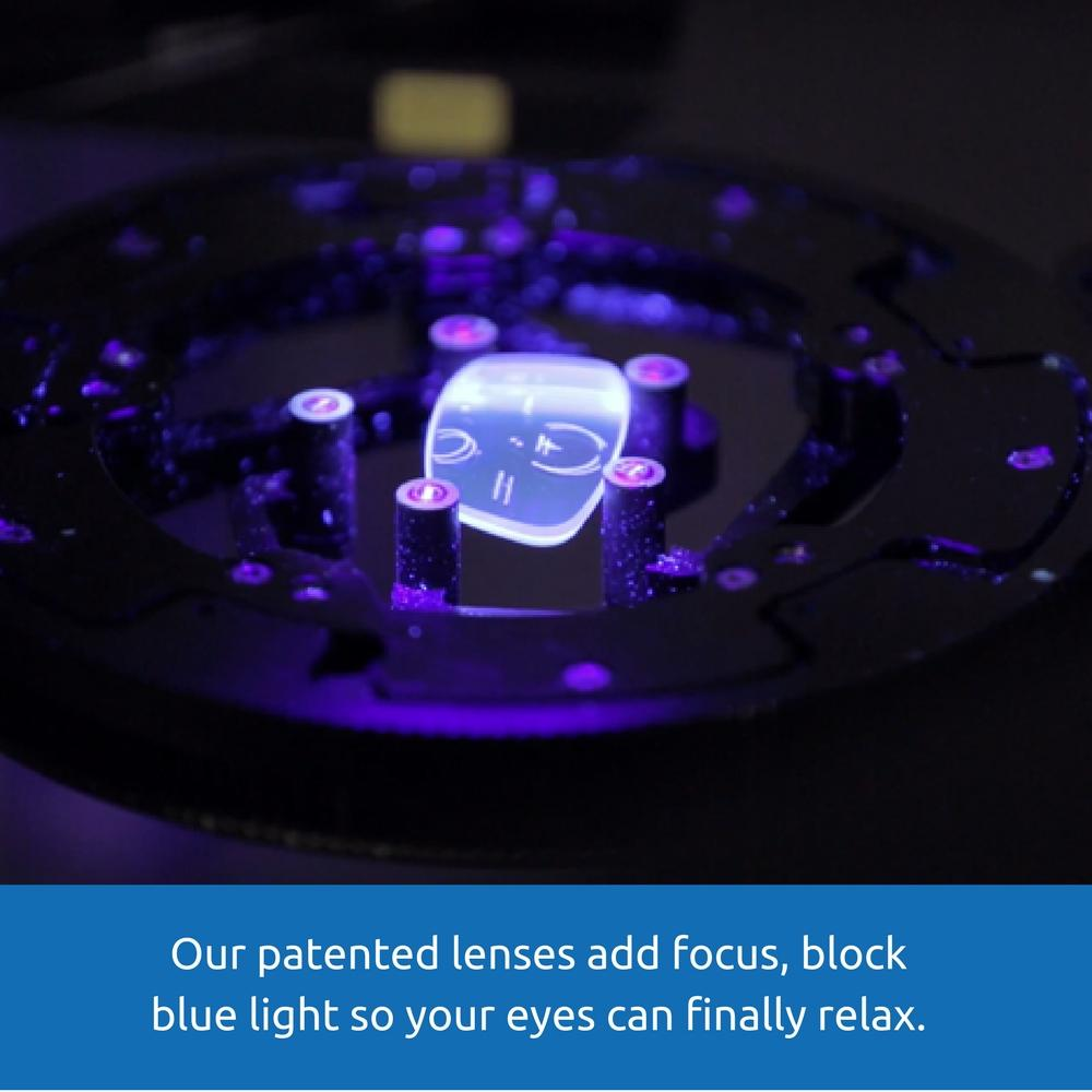 Blue Light Blocking Computer Gaming Glasses - Gamba - Teddith Blue Light Glasses Computer Glasses Gaming Reading Glasses Anti Glare Reduce Eye Strain Screen Glasses