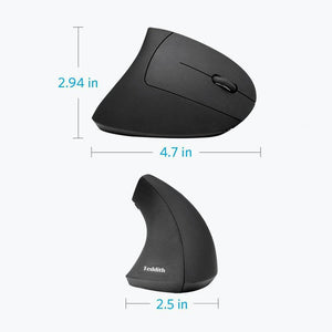 Wireless Right-Handed Vertical Ergonomic Mouse - Teddith Blue Light Glasses Computer Glasses Gaming Reading Glasses Anti Glare Reduce Eye Strain Screen Glasses