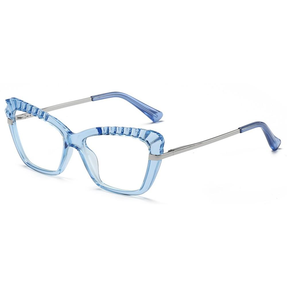 Blue Light Blocking Computer Gaming Glasses - Romani - Teddith Blue Light Glasses Computer Glasses Gaming Reading Glasses Anti Glare Reduce Eye Strain Screen Glasses