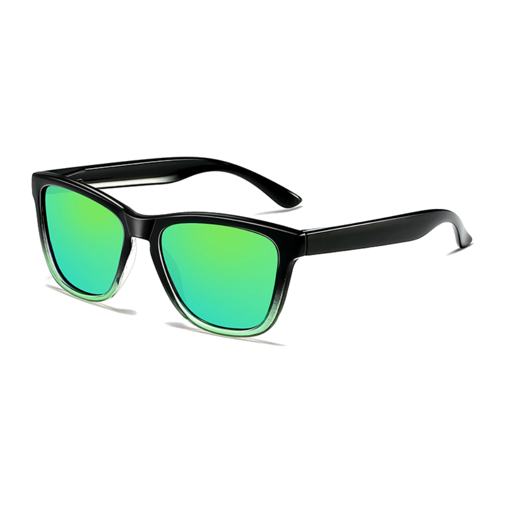 Polarized Sunglasses for Men/Women Gradient Wayfarer Frame - Green - Teddith Blue Light Glasses Computer Glasses Gaming Reading Glasses Anti Glare Reduce Eye Strain Screen Glasses