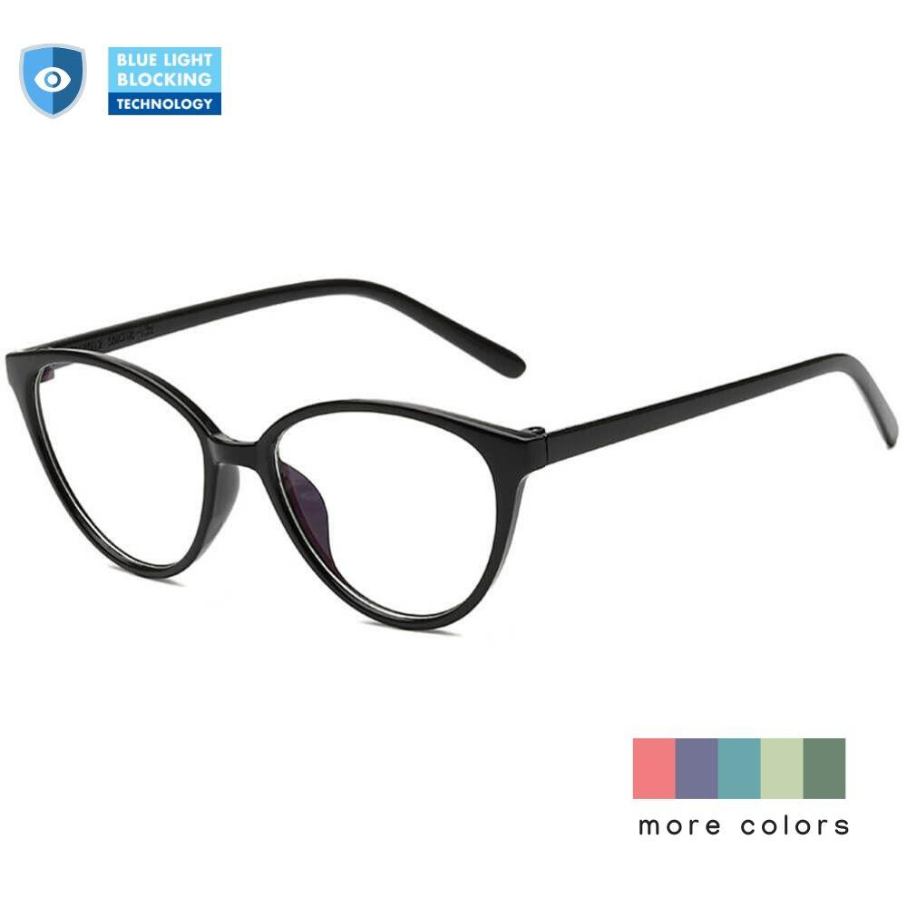 Blue Light Glasses for Computer Reading Gaming - Cleo - Teddith Blue Light Glasses Computer Glasses Gaming Reading Glasses Anti Glare Reduce Eye Strain Screen Glasses
