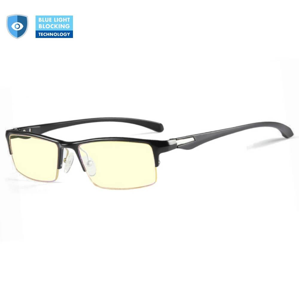 Blue Light Glasses for Computer Gaming Reading - Jasper - Teddith Blue Light Glasses Computer Glasses Gaming Reading Glasses Anti Glare Reduce Eye Strain Screen Glasses