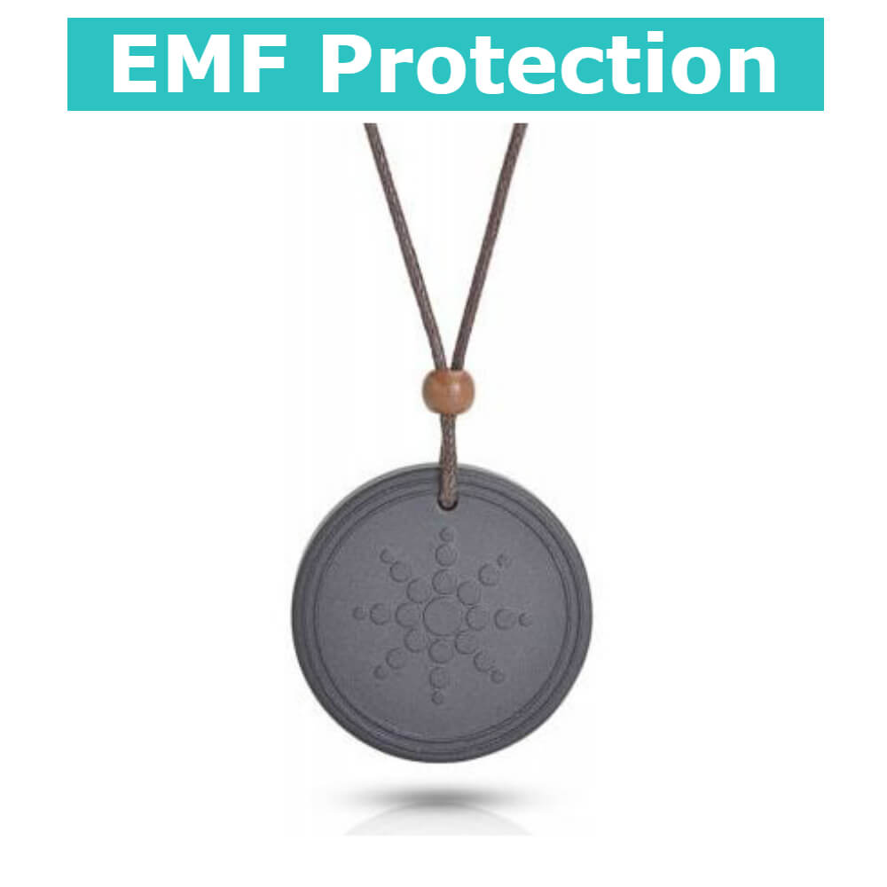 Anti EMF Radiation Protection Pendant Negative Ion Balance Power Necklace - Teddith Blue Light Glasses Computer Glasses Gaming Reading Glasses Anti Glare Reduce Eye Strain Screen Glasses