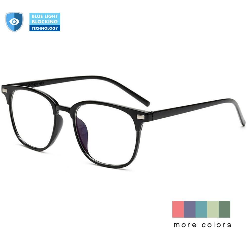 Blue Light Glasses for Computer Reading Gaming - Chase - Teddith Blue Light Glasses Computer Glasses Gaming Reading Glasses Anti Glare Reduce Eye Strain Screen Glasses