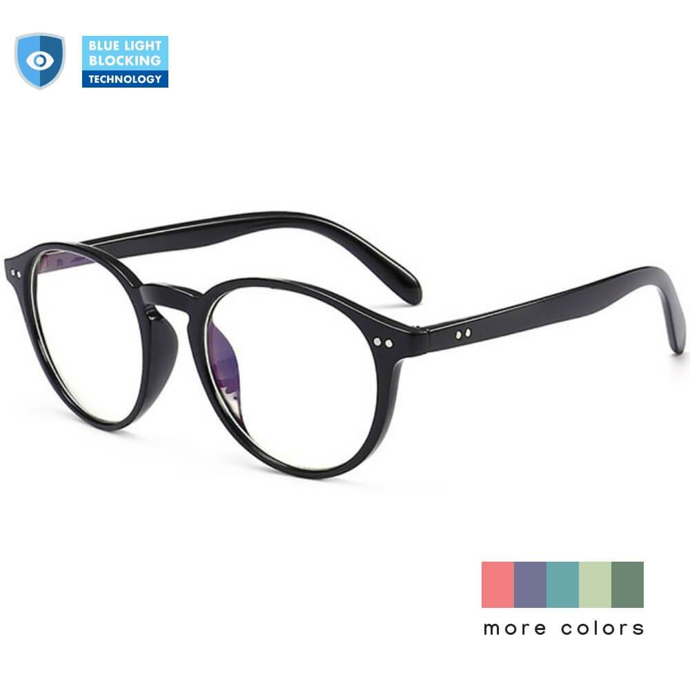 Blue Light Glasses for Computer Reading Gaming - Sam - Teddith Blue Light Glasses Computer Glasses Gaming Reading Glasses Anti Glare Reduce Eye Strain Screen Glasses