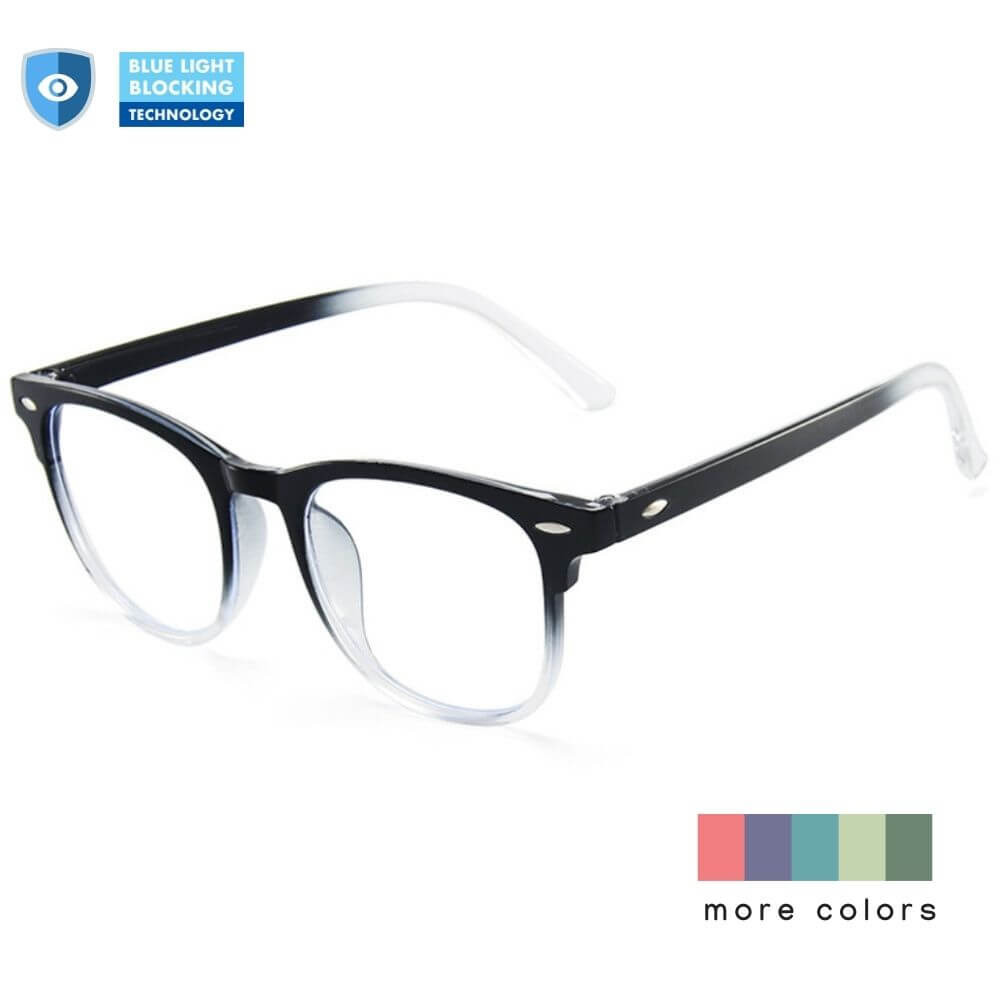 Blue Light Glasses for Computer Reading Gaming - Elvis - Teddith Blue Light Glasses Computer Glasses Gaming Reading Glasses Anti Glare Reduce Eye Strain Screen Glasses