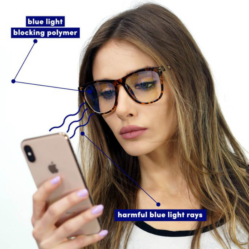 Blue Light Blocking Computer Gaming Glasses - Charle - Teddith - Canada