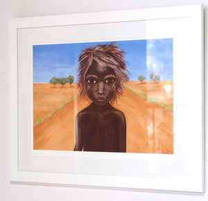 Large: Aboriginal Art Prints: Hope by Kim Burke