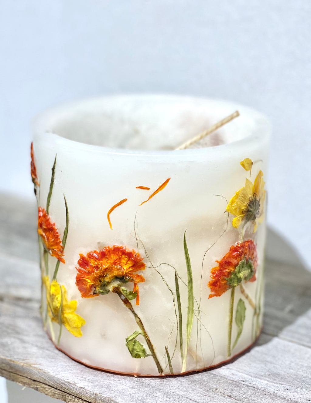Marigold Cottage - Nature Inspired Candle SKU:GC_CM1
