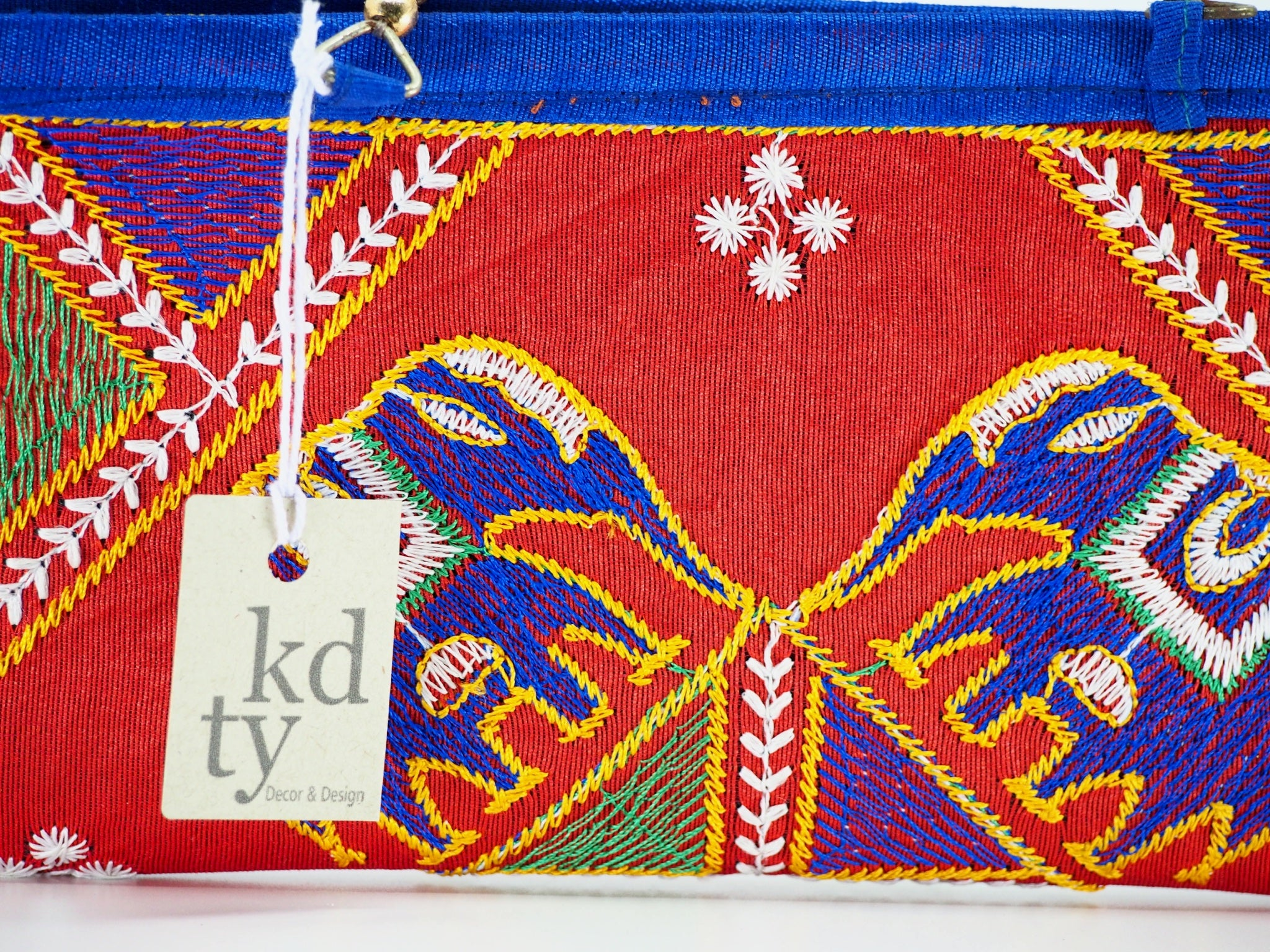 Elephant Embroidered purse - Multi SKU:EM_HP