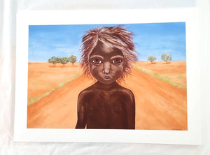4/50 Large: Aboriginal Art Prints: Hope by Kim Burke