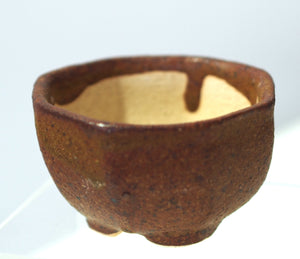 Handmade Mini Planters - Brown Round assorted