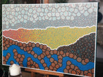 Timothy Yule - Perspective - Aboriginal Canvas Art