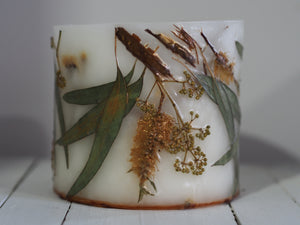 Nature Inspired Candle - Golden Gum