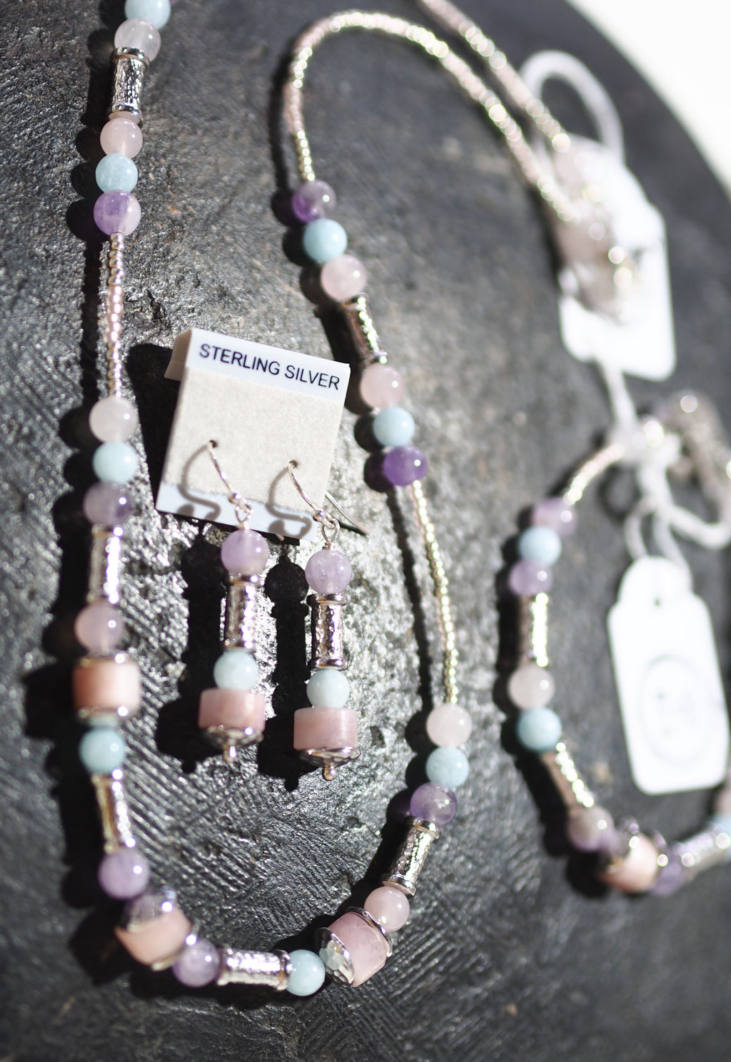 Quartz Rose + Lavender + Acquamarine set SKU: 72
