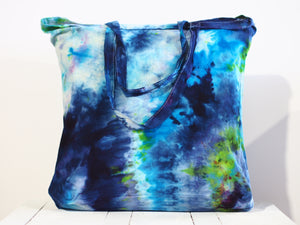 Shopping Calico bag C - Ice dyed