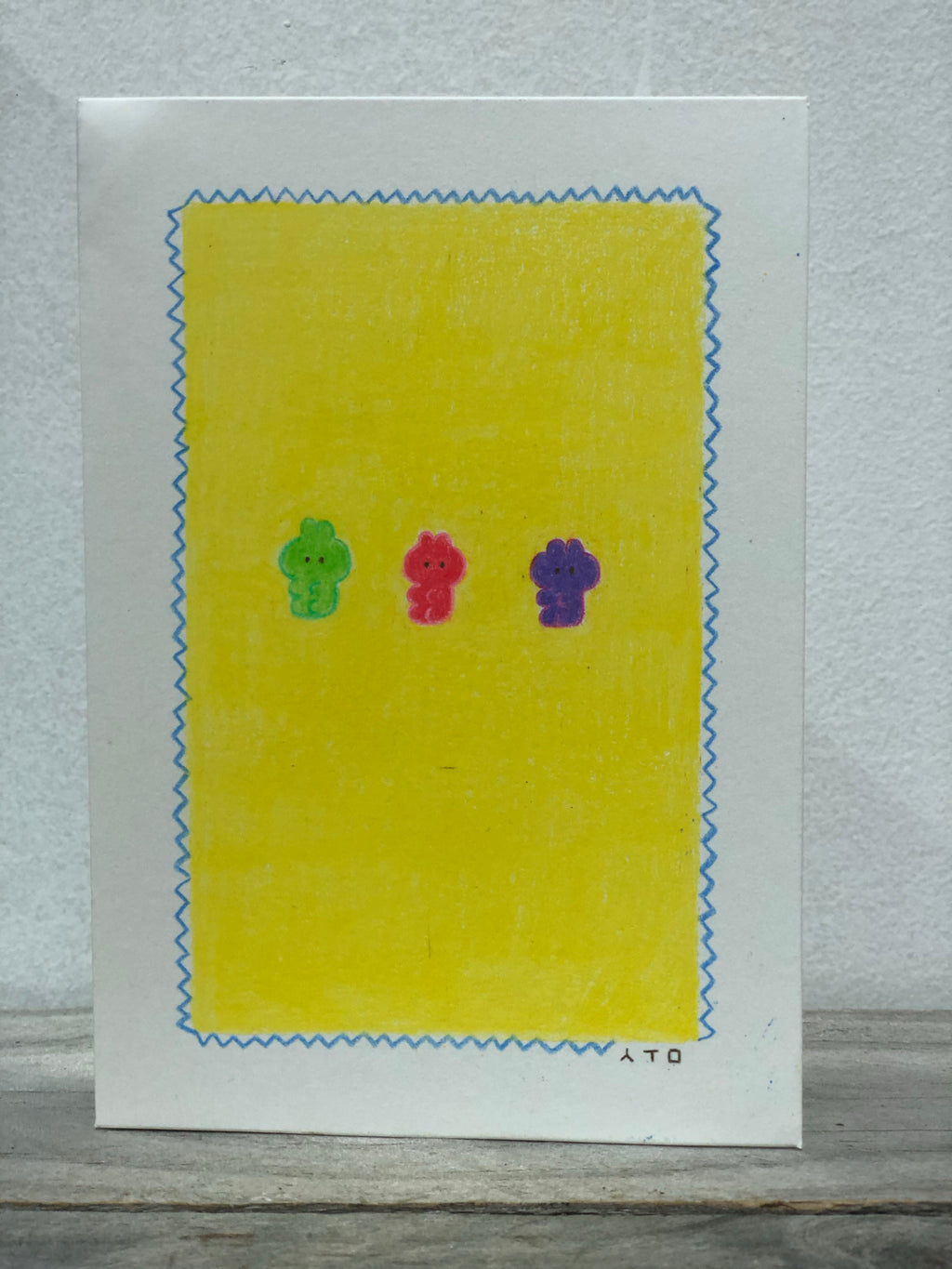 Jelly Babies Hand Drawn Card SKU: SC_04