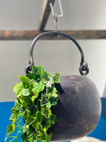 Large Rustic Cast Iron Planter SKU:Ak_14B