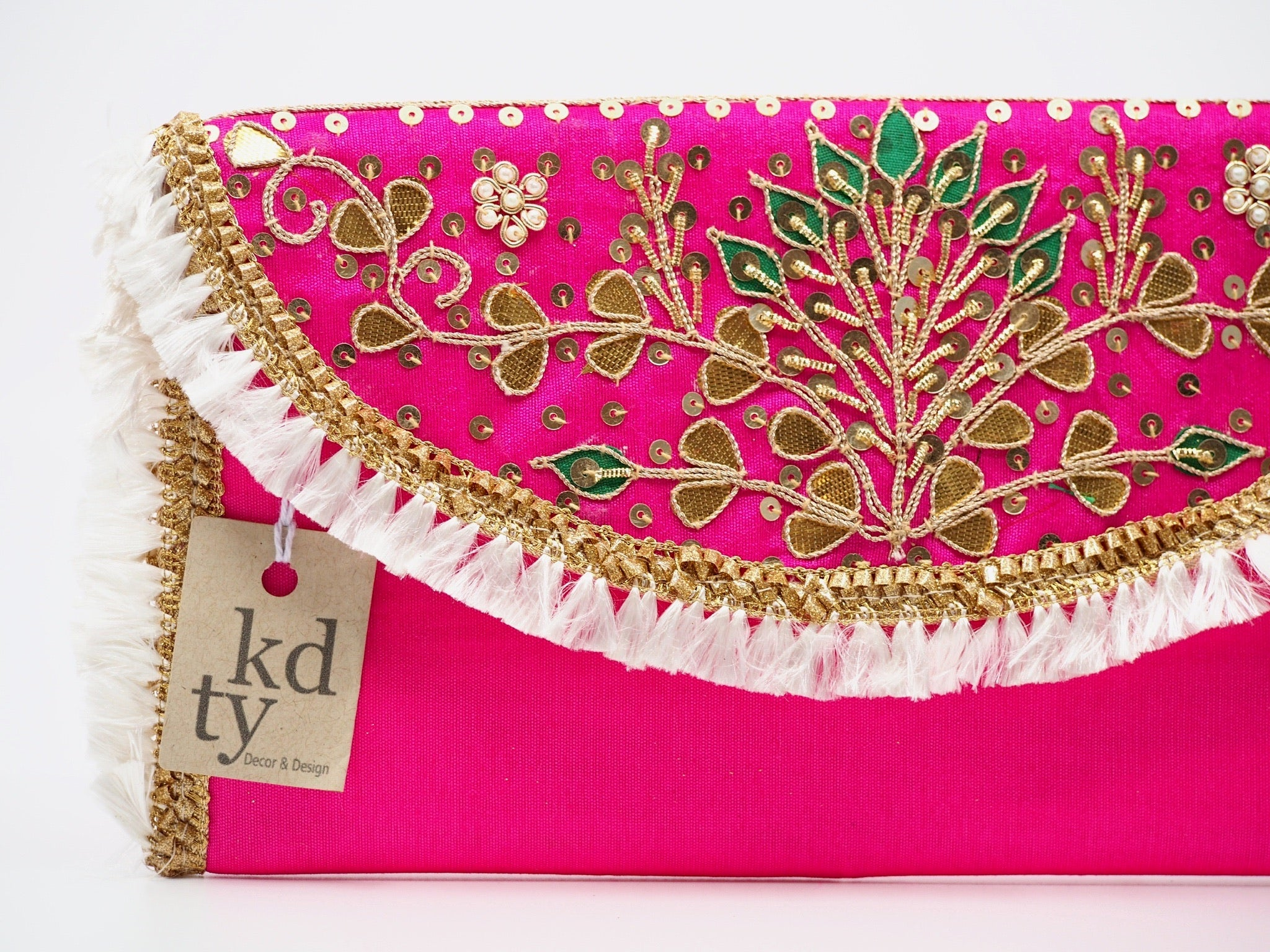 Plain Gota Clutch HotPink - PG_HP