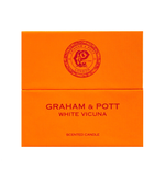 White Vicuna Scented Candle freeshipping - GRAHAM & POTT