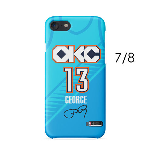 25150bee0b3 ... Oklahoma City Thunder City Edition Jersey iPhone Case  581282736287 3889341345273