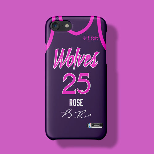 pretty nice 59573 27cc7 Minnesota Timberwolves City Edition Jersey Phone Case