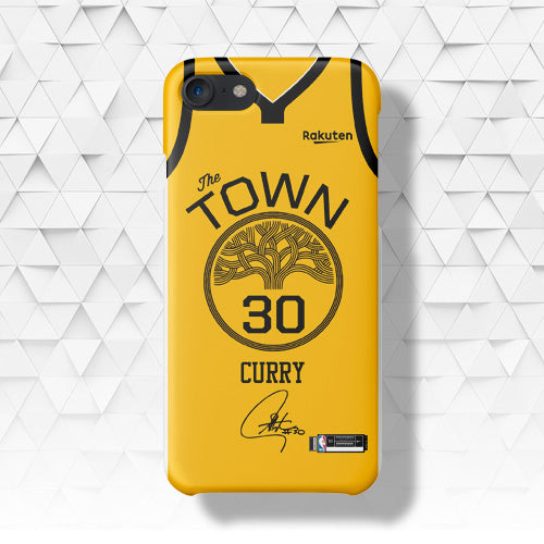 brand new 867ab 8656c Golden State Warriors Earned Edition Jersey Phone Case