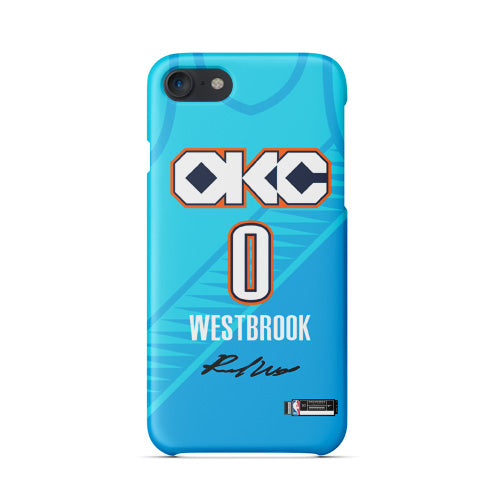 wholesale dealer 6745f 44b73 Oklahoma City Thunder City Edition Jersey Phone Case